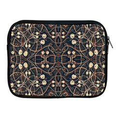 Victorian Style Grunge Pattern Apple Ipad Zippered Sleeve by dflcprints