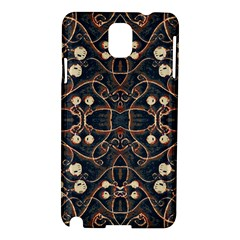 Victorian Style Grunge Pattern Samsung Galaxy Note 3 N9005 Hardshell Case by dflcprints