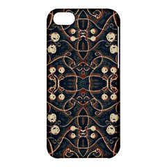 Victorian Style Grunge Pattern Apple Iphone 5c Hardshell Case by dflcprints