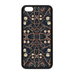Victorian Style Grunge Pattern Apple Iphone 5c Seamless Case (black) by dflcprints