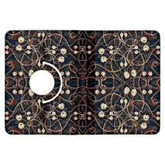 Victorian Style Grunge Pattern Kindle Fire Hdx Flip 360 Case by dflcprints