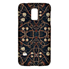 Victorian Style Grunge Pattern Samsung Galaxy S5 Mini Hardshell Case  by dflcprints