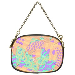 Tropical Summer Fruit Orange Lime Berry Chain Purse (two Sides)