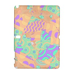 Tropical Summer Fruit Orange Lime Berry Samsung Galaxy Note 10 1 (p600) Hardshell Case by CrypticFragmentsColors