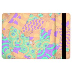 Tropical Summer Fruit Orange Lime Berry Apple Ipad Air 2 Flip Case by CrypticFragmentsColors