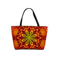 Florescent Abstract Large Shoulder Bag by OCDesignss