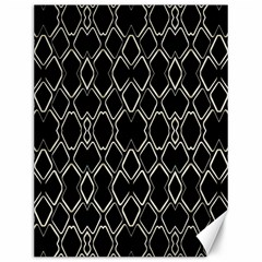 Geometric Abstract Pattern Futuristic Design  Canvas 12  X 16  (unframed) by dflcprints