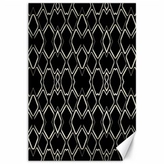 Geometric Abstract Pattern Futuristic Design  Canvas 12  X 18  (unframed) by dflcprints