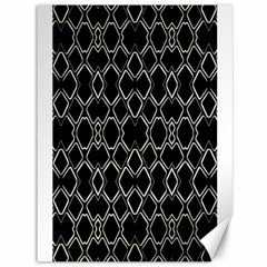 Geometric Abstract Pattern Futuristic Design  Canvas 36  X 48  (unframed) by dflcprints