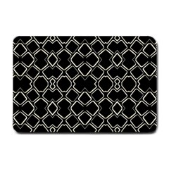 Geometric Abstract Pattern Futuristic Design  Small Door Mat by dflcprints