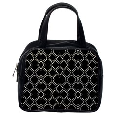 Geometric Abstract Pattern Futuristic Design  Classic Handbag (one Side) by dflcprints