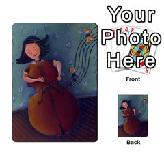 Mosby3multibacks By Jordi Diaz Jose   Multi Purpose Cards (rectangle)   Ouytj7b25ga9   Www Artscow Com Back 36