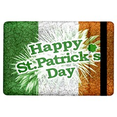 Happy St  Patricks Day Grunge Style Design Apple Ipad Air Flip Case by dflcprints