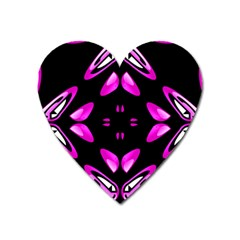 Abstract Pain Frustration Magnet (heart) by FunWithFibro