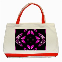Abstract Pain Frustration Classic Tote Bag (red) by FunWithFibro