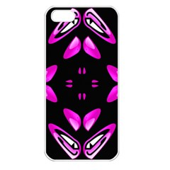 Abstract Pain Frustration Apple Iphone 5 Seamless Case (white) by FunWithFibro