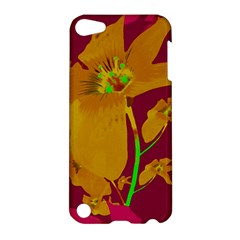 Tropical Hawaiian Style Lilies Collage Apple Ipod Touch 5 Hardshell Case by dflcprints