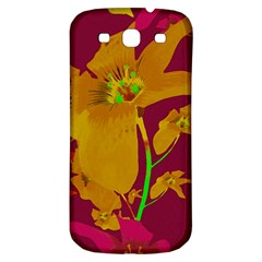 Tropical Hawaiian Style Lilies Collage Samsung Galaxy S3 S Iii Classic Hardshell Back Case by dflcprints