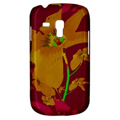 Tropical Hawaiian Style Lilies Collage Samsung Galaxy S3 Mini I8190 Hardshell Case by dflcprints