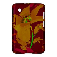 Tropical Hawaiian Style Lilies Collage Samsung Galaxy Tab 2 (7 ) P3100 Hardshell Case  by dflcprints