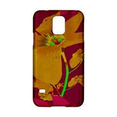 Tropical Hawaiian Style Lilies Collage Samsung Galaxy S5 Hardshell Case  by dflcprints