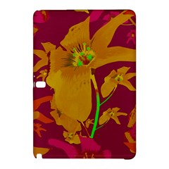 Tropical Hawaiian Style Lilies Collage Samsung Galaxy Tab Pro 12 2 Hardshell Case by dflcprints