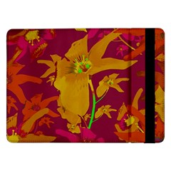 Tropical Hawaiian Style Lilies Collage Samsung Galaxy Tab Pro 12 2  Flip Case by dflcprints