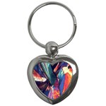 Fractal 1 Key Chain (Heart)