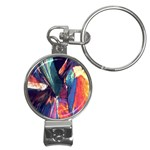 Fractal 1 Nail Clippers Key Chain