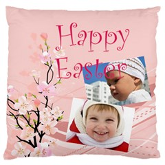 Easter By Easter   Large Flano Cushion Case (two Sides)   Onygxdpti5bv   Www Artscow Com Front