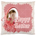 easter - Large Flano Cushion Case (Two Sides)