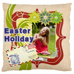 Easter By Easter   Large Flano Cushion Case (two Sides)   St1a808g2w3e   Www Artscow Com Back