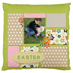 Easter By Easter   Large Flano Cushion Case (two Sides)   O0b64532l71v   Www Artscow Com Front