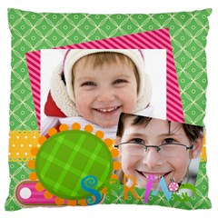 Easter By Easter   Large Flano Cushion Case (two Sides)   Sjq80omzp47u   Www Artscow Com Back