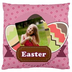 Easter By Easter   Large Flano Cushion Case (two Sides)   Cet0ccbekuqt   Www Artscow Com Front