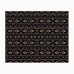 Tribal Dark Geometric Pattern03 Glasses Cloth (small) by dflcprints