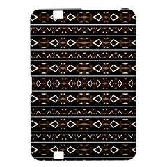 Tribal Dark Geometric Pattern03 Kindle Fire Hd 8 9  Hardshell Case by dflcprints