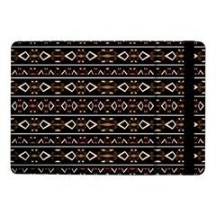 Tribal Dark Geometric Pattern03 Samsung Galaxy Tab Pro 10 1  Flip Case by dflcprints