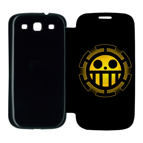 [one Piece] Heart Pirates Flip Cover By Fissll   Samsung Galaxy S3 Flip Cover Case   Fnpisuchqnao   Www Artscow Com Front