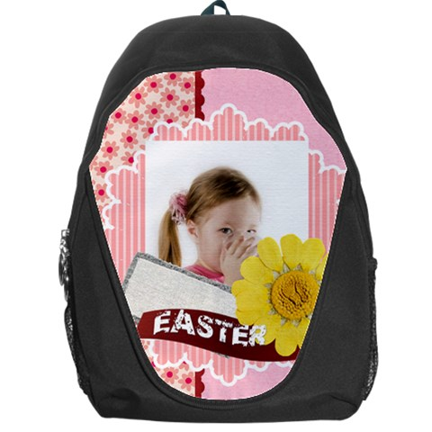 Easter By Easter   Backpack Bag   Yhbetnfzhbql   Www Artscow Com Front