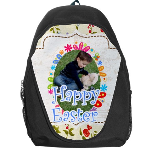 Easter By Easter   Backpack Bag   Bdn7l2sf7q1u   Www Artscow Com Front