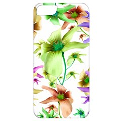 Multicolored Floral Print Pattern Apple Iphone 5 Classic Hardshell Case by dflcprints