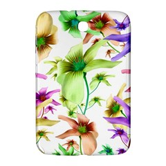 Multicolored Floral Print Pattern Samsung Galaxy Note 8 0 N5100 Hardshell Case  by dflcprints