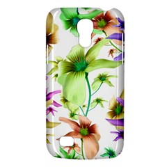 Multicolored Floral Print Pattern Samsung Galaxy S4 Mini (gt I9190) Hardshell Case  by dflcprints