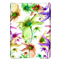 Multicolored Floral Print Pattern Apple Ipad Air Hardshell Case by dflcprints