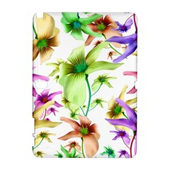 Multicolored Floral Print Pattern Samsung Galaxy Note 10 1 (p600) Hardshell Case by dflcprints