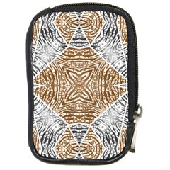 Animal Print Pattern  Compact Camera Leather Case by OCDesignss