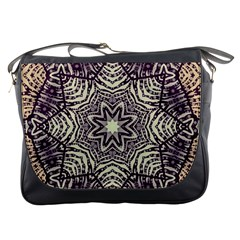 Crazy Beautiful Abstract  Messenger Bag by OCDesignss