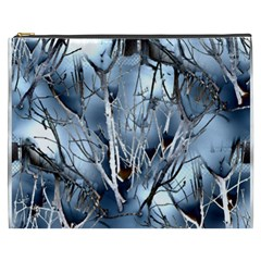 Abstract Of Frozen Bush Cosmetic Bag (xxxl) by canvasngiftshop