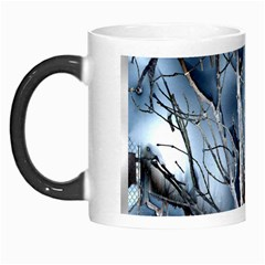 Abstract Of Frozen Bush Morph Mug by canvasngiftshop